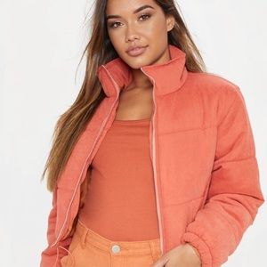 PrettyLittleThing Cropped Puffer Jacket
